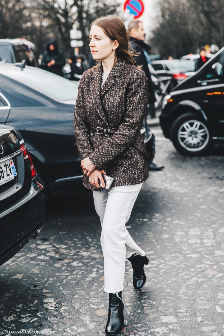 PFW-Paris_Fashion_Week_Fall_2016-Street_Style-Collage_Vintage-Stella_McCartney-White_Jeans-Belted_Jacket-.jpg