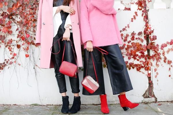 Rompé las reglas: el rosa + rojo es el mix de latemporada